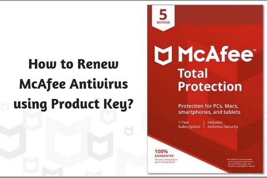 How to Renew McAfee