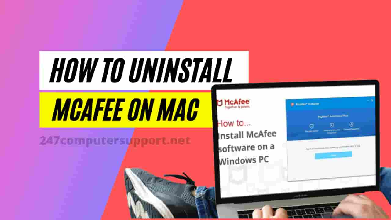 how to uninstall McAfee on Mac