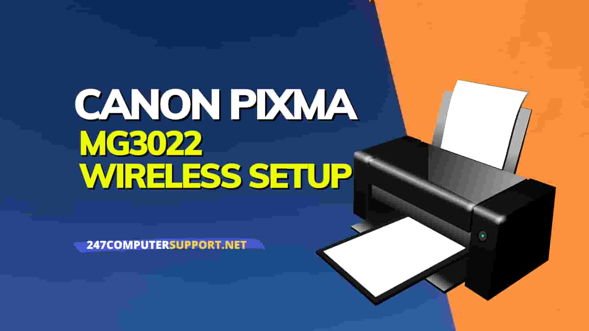 connect Canon MG3022 printer to wife