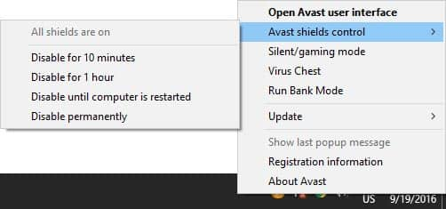 this is how to disable antivirus